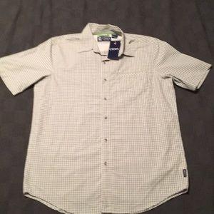 NWT MEN'S Chaps SS button down shirt